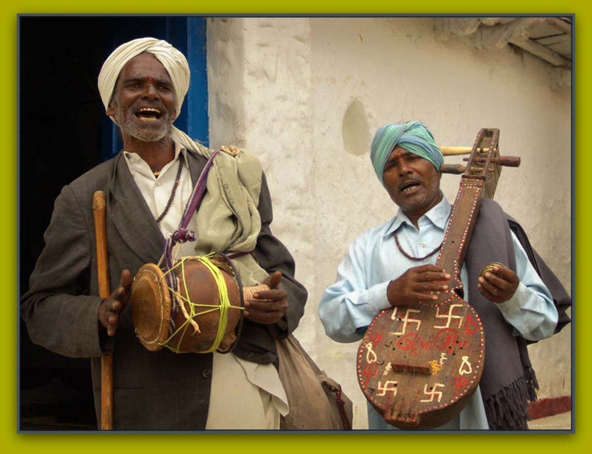 Indian village musicians