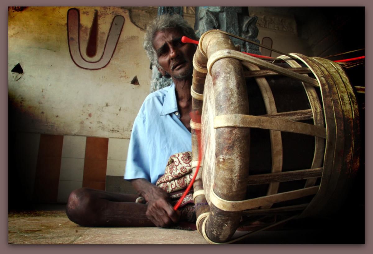 Indian Folk Musician