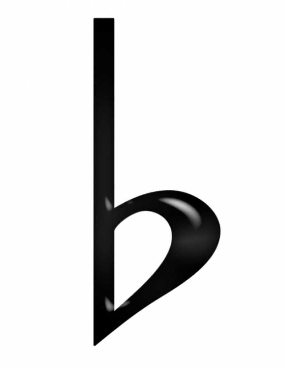 Black Plastic Flat Symbol