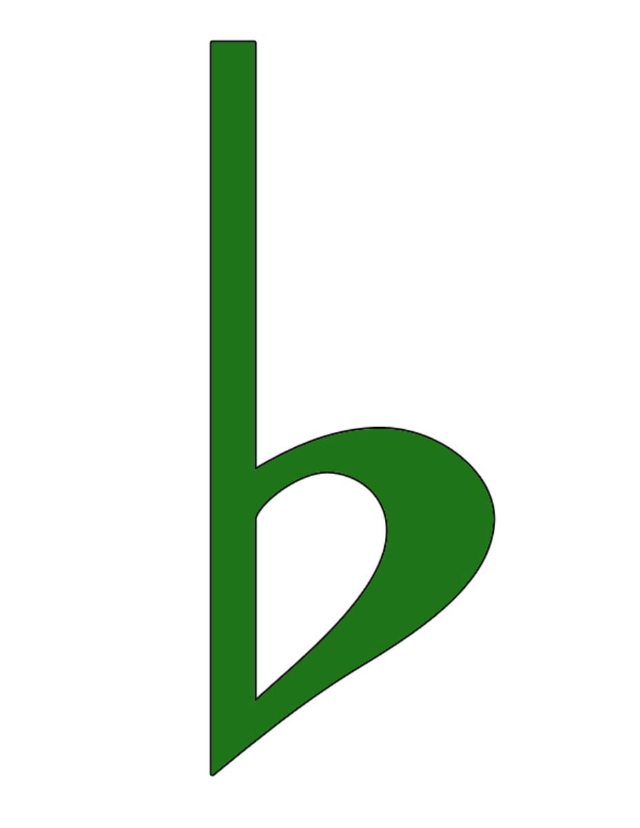 Green Flat Symbol Clip Art