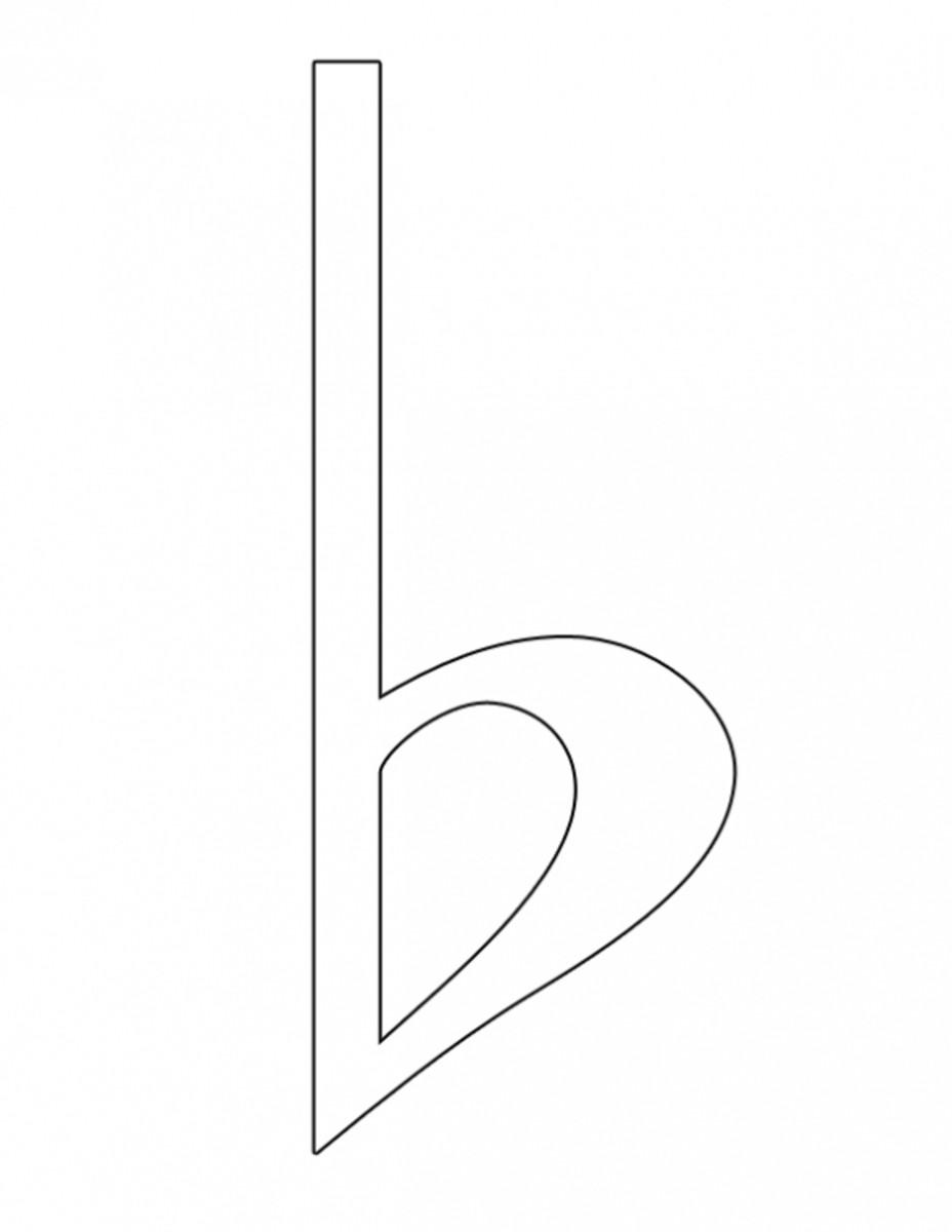 Flat Symbol Coloring Image