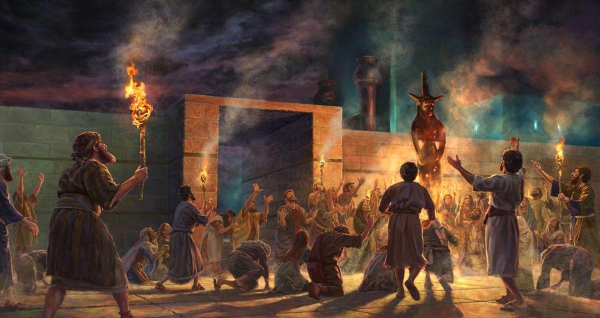 Israel Worshipping Baal