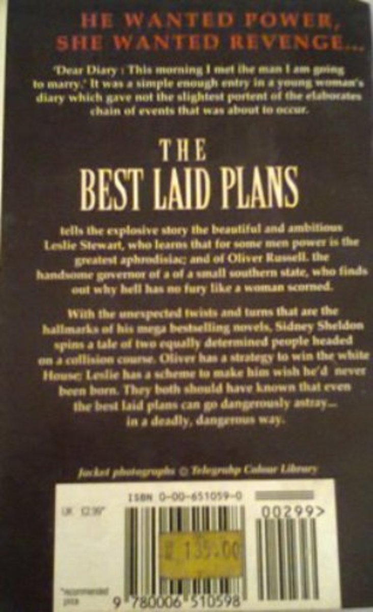 The Best Laid Plan's Back Cover