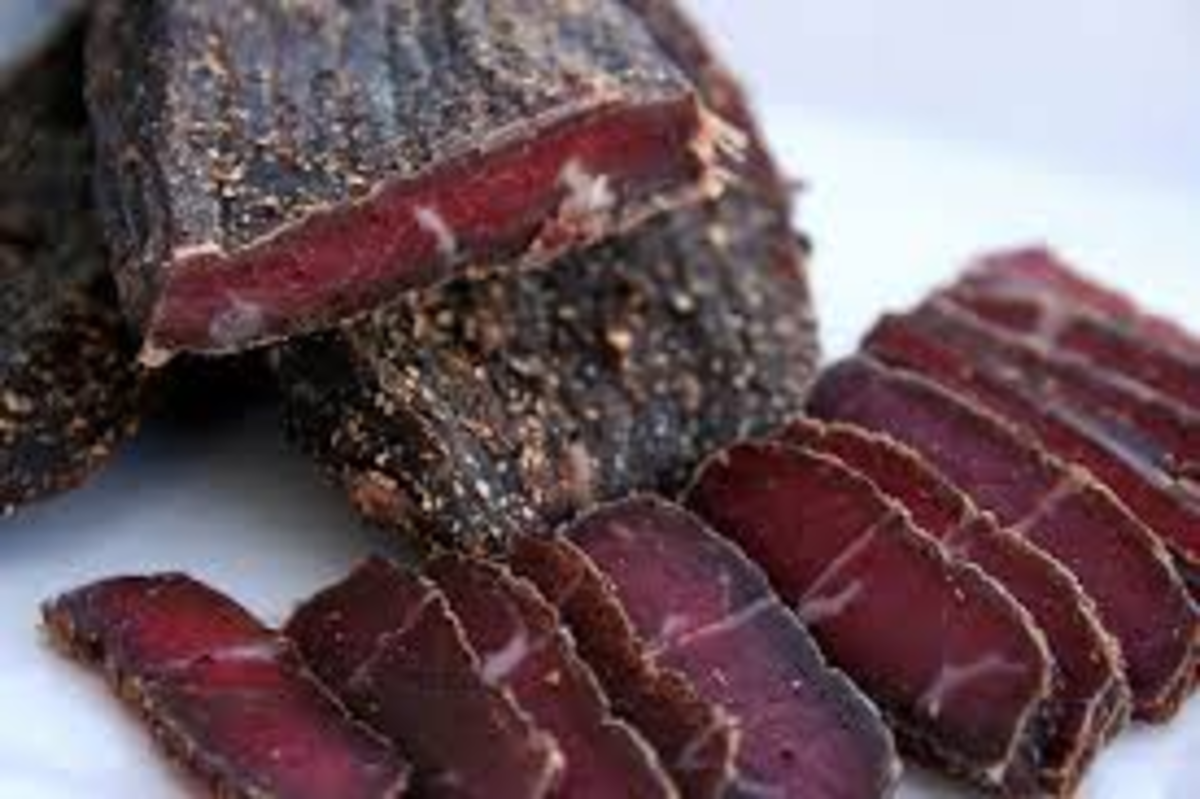Biltong, South Africa's favourite snack