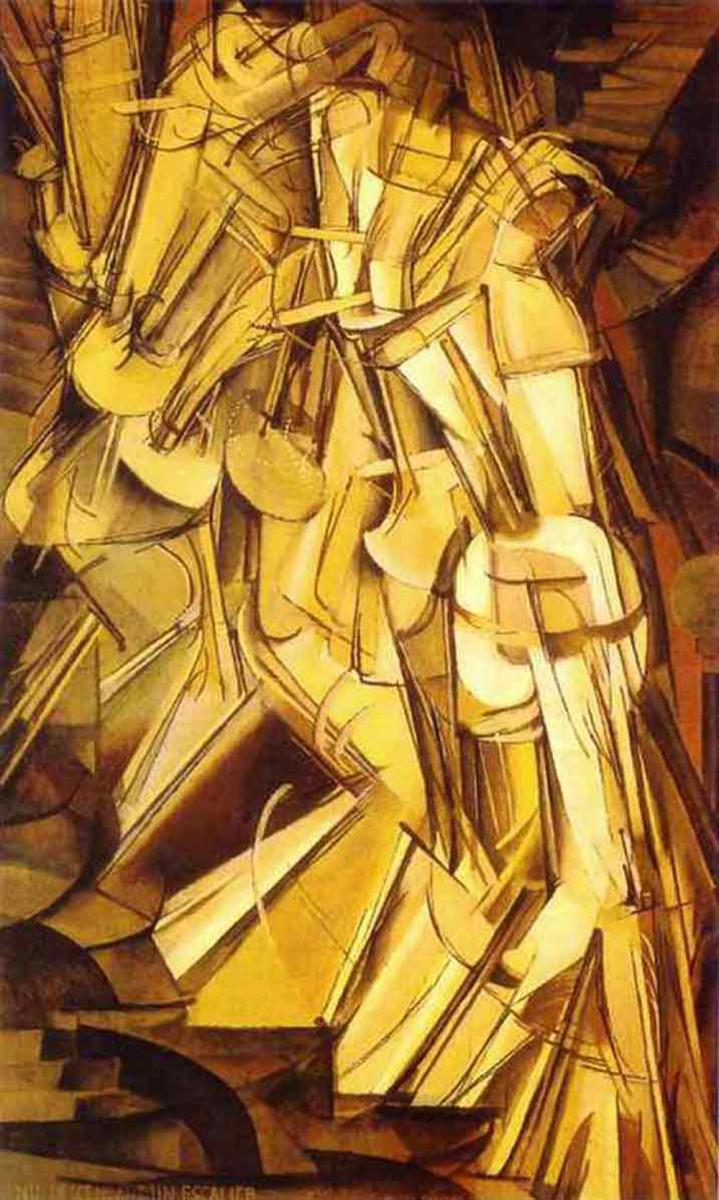 """""""Nude Descending a Staircase No. 2"""" (1912)"""