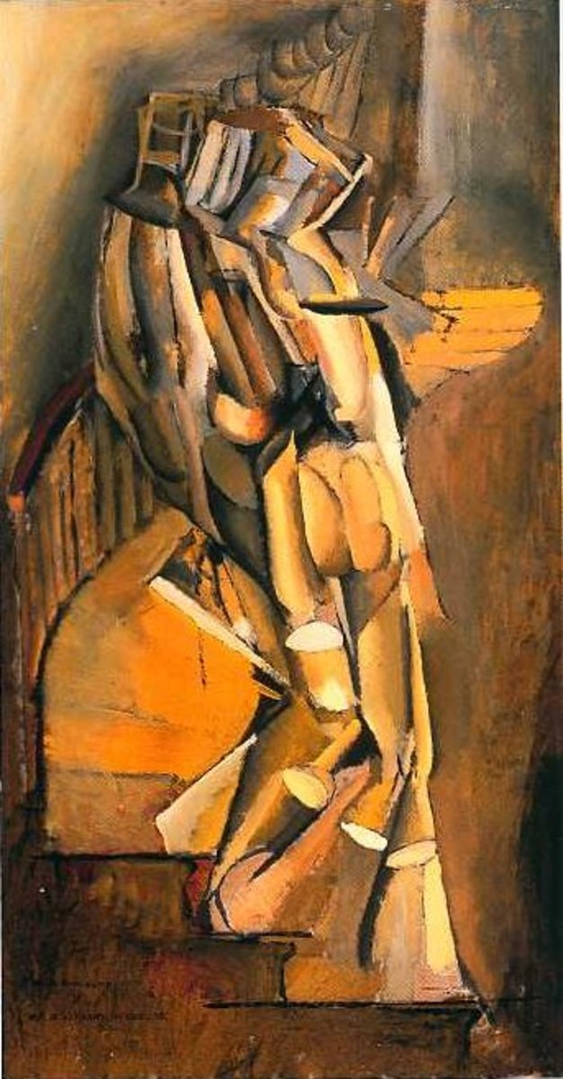 """Nude Descending a Staircase No. 1"" (1911)"