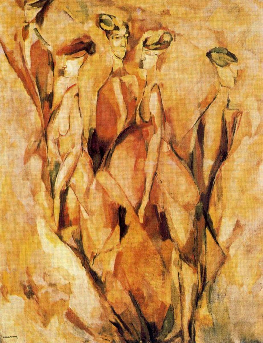 Portrait (Dulcinea) 1911