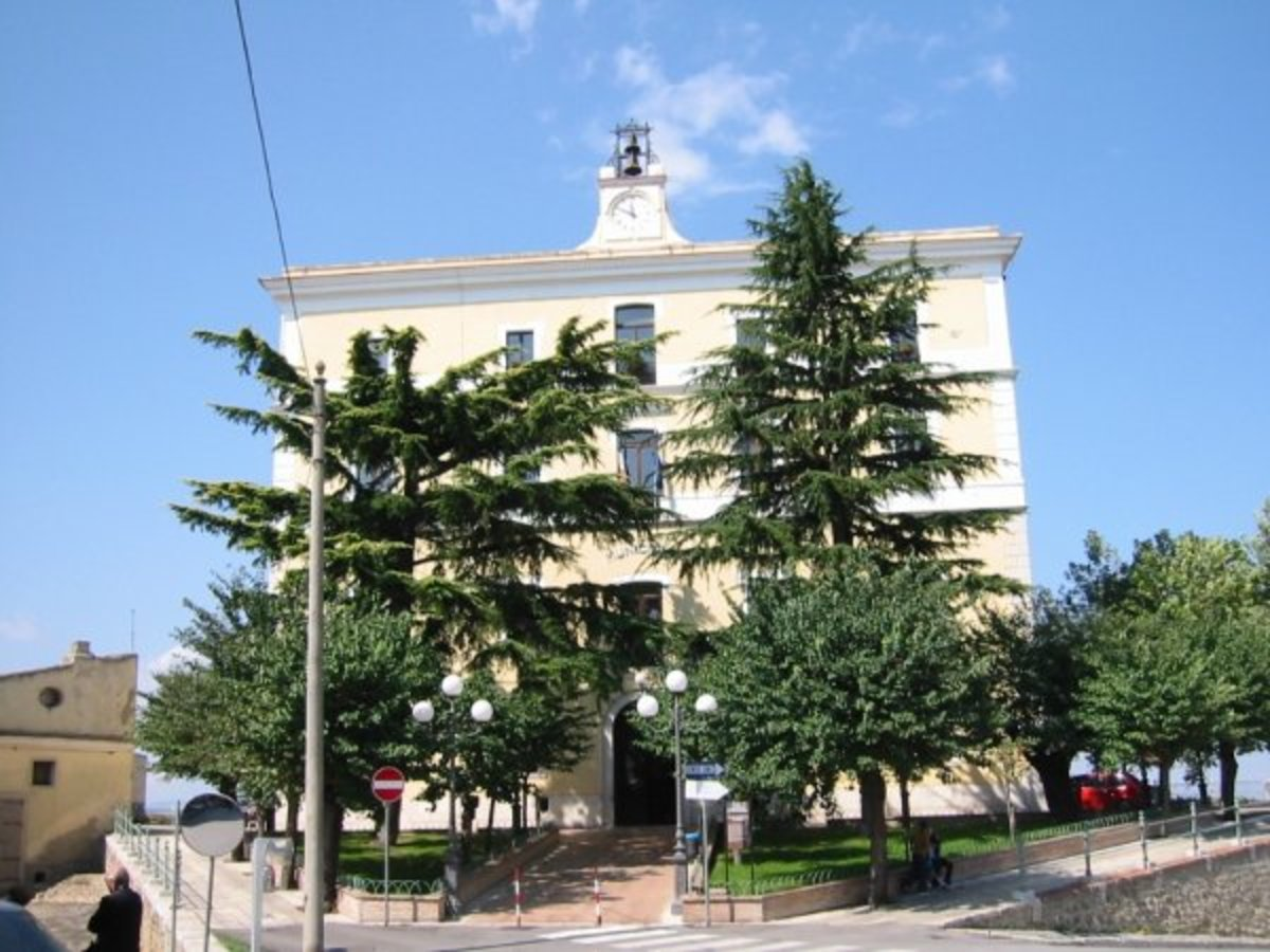 This is another old Genzano castle, and today is being used for other purposes and Town Hall.