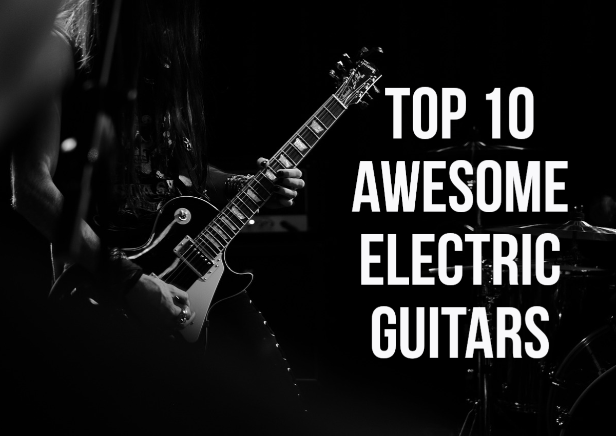 For my 10 coolest electric guitars, please read on...
