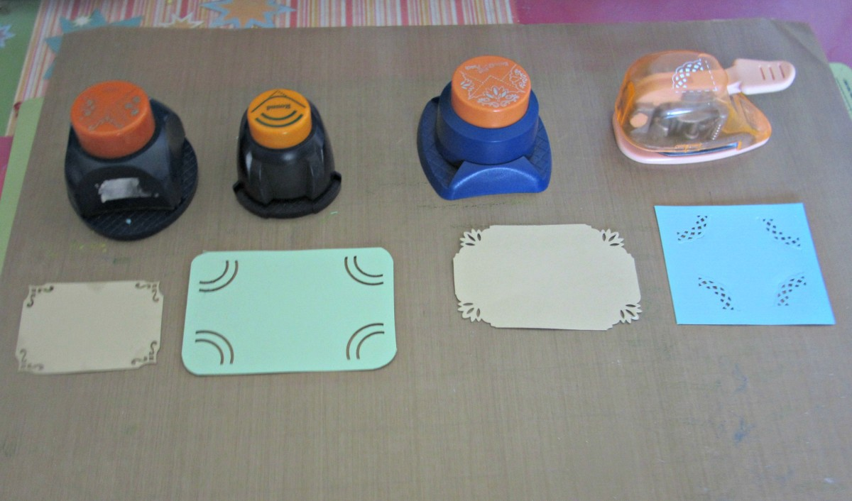 Corner punches add pizazz to your paper projects