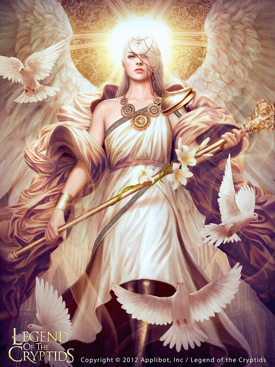 Archangel Gabriel the beautiful and powerful angel of God that the Archangel Michael has sent to guard me, while I am in the negative territory, so that I can return safely to Mother Earth circle when I finish visiting the negative life force.