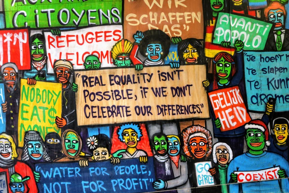 Humanity wall