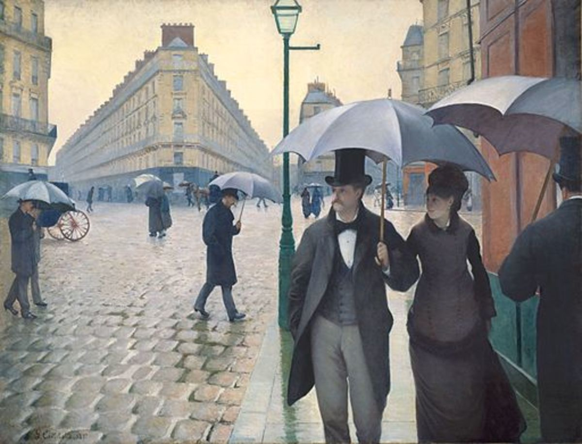 Jour de Pluie à Paris (Rainy Day in Paris) by Gustave Caillebotte