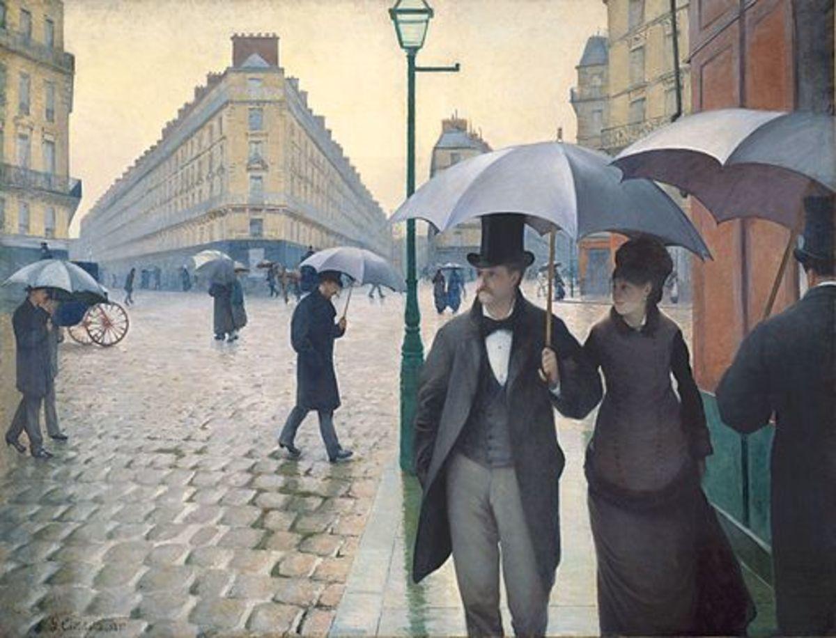 Jour de Pluie à Paris (Rainy Day in Paris) by Gustave Caillebotte