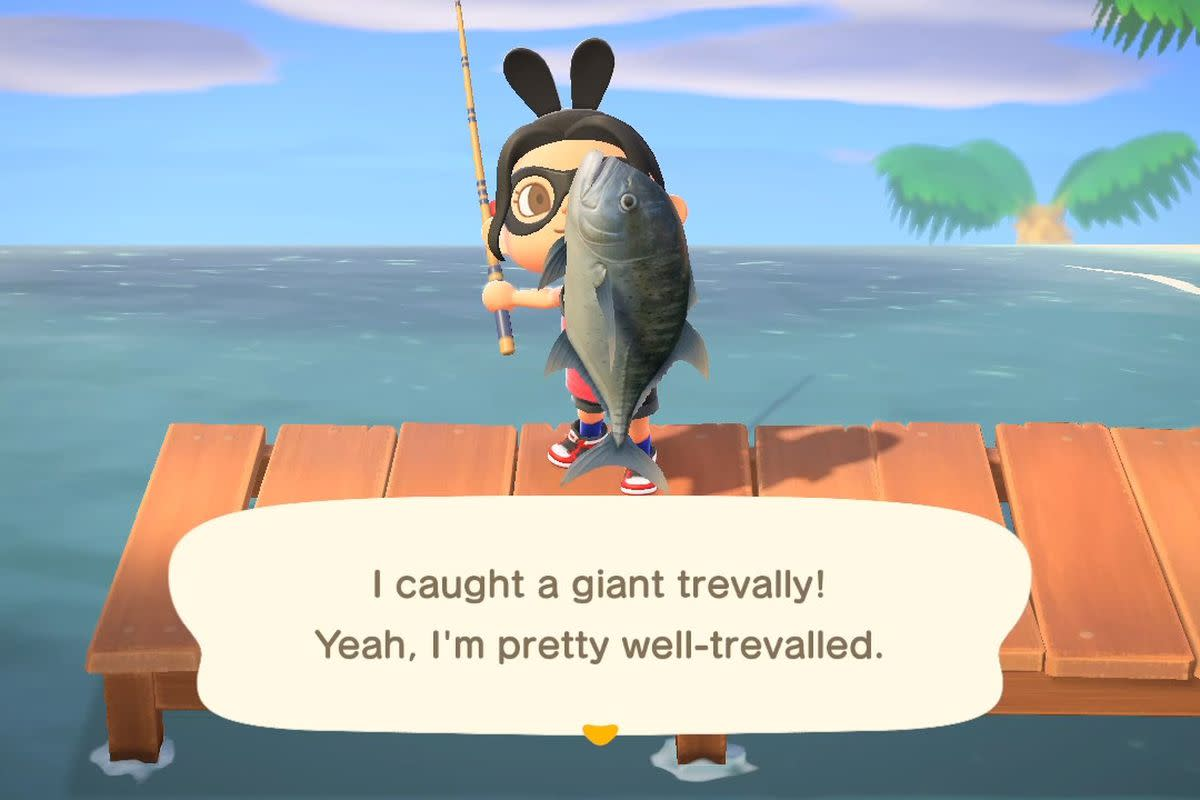 Only the dedicated will catch all the fish in Animal Crossing New Horizons. The fish selection changes each month.