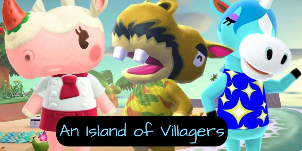 You can have up to 10 villagers on your island. You could have an island of only dogs (Wes Anderson reference there), or you could have an island of only snooty characters. You get to decide.