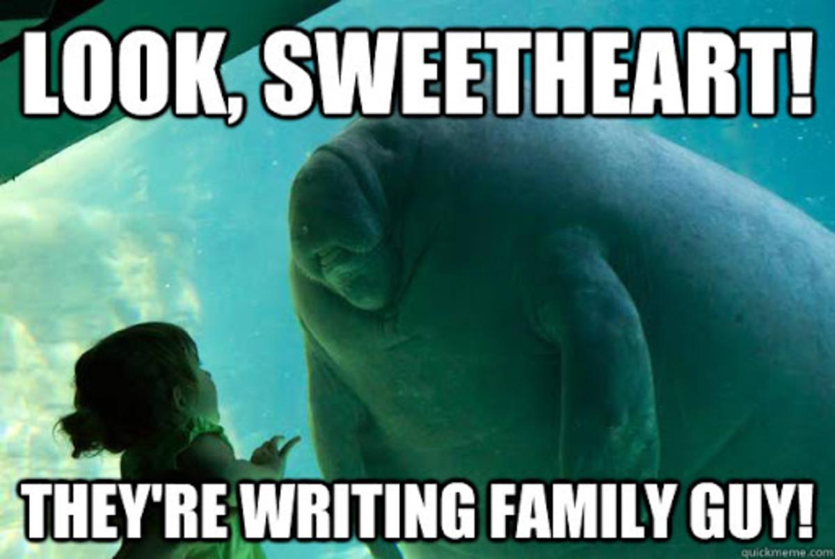How Family Guy is written