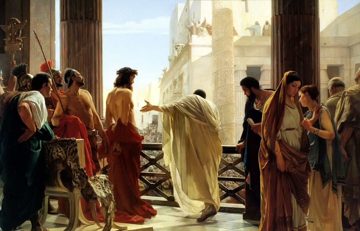 """ECCE HOMO"" (BEHOLD THE MAN) BY ANTONIO CISERI"