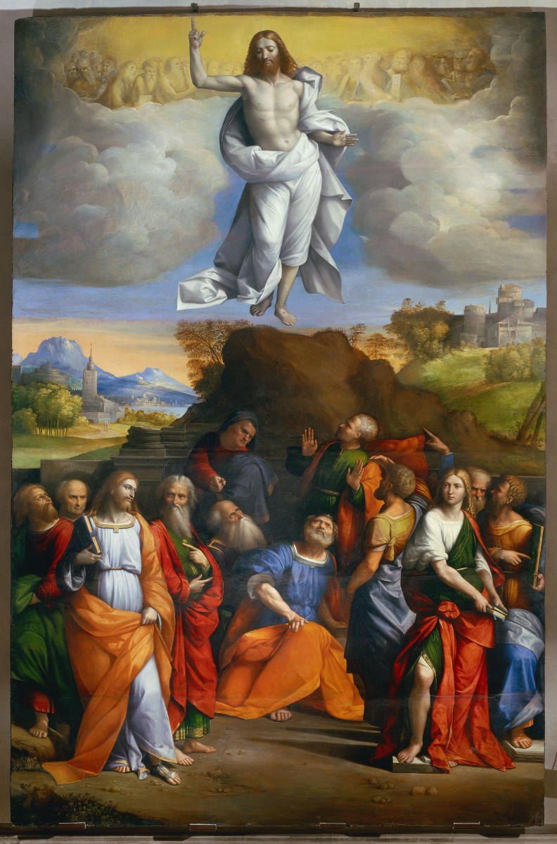 """ASCENSION OF JESUS"" BY GAROFALO"