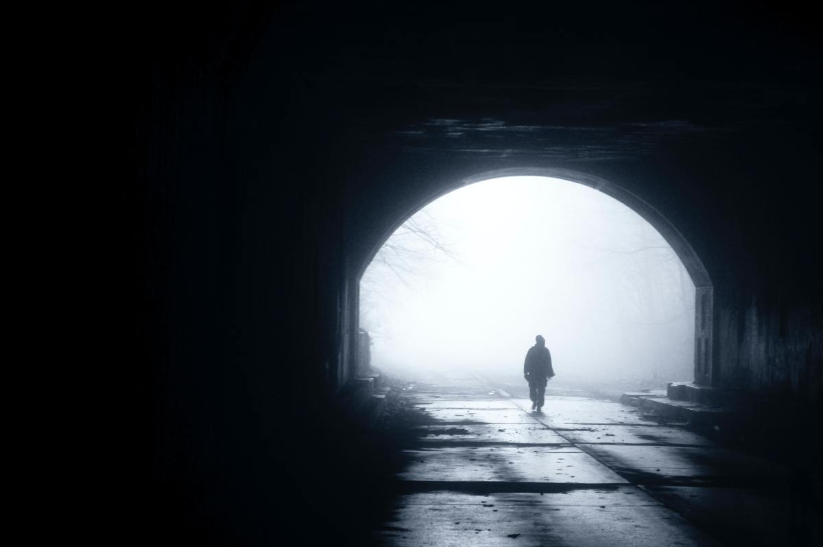 Ghostly sightings are common in Tunnel 19.