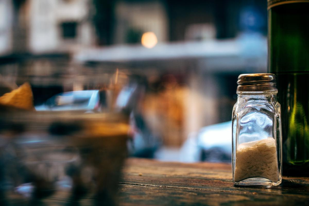 Salt has long been held as a protective device against evil spirits.