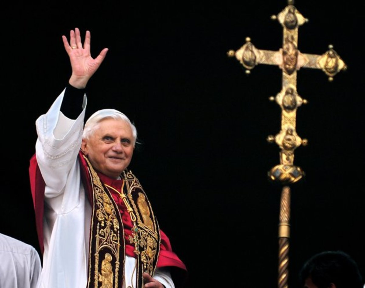 Pope Benedict XVI has resigned, as he wants to retire and give way to modern times, since he sees that his old ways may not be the best for the church, so, he has chosen to retire, in the hope that a new pope can bring renewed life to the Church