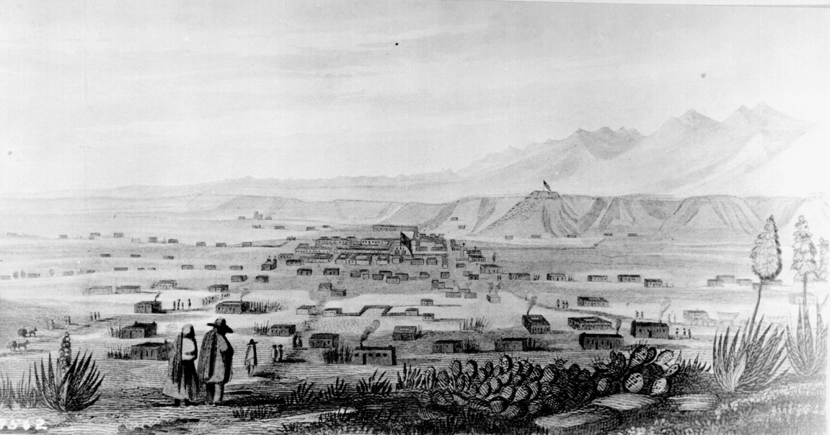SANTE FE NEW MEXICO WAS THE LARGEST CITY IN ALL THE TERRITORY SOLD BY MEXICO TO AMERICA (1846)