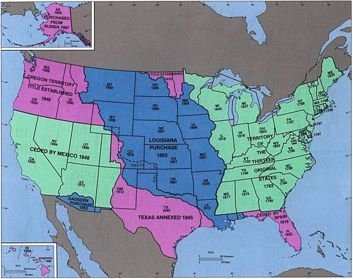 THE UNITED STATES OF AMERICA AFTER THE MEXICAN AMERICAN WAR