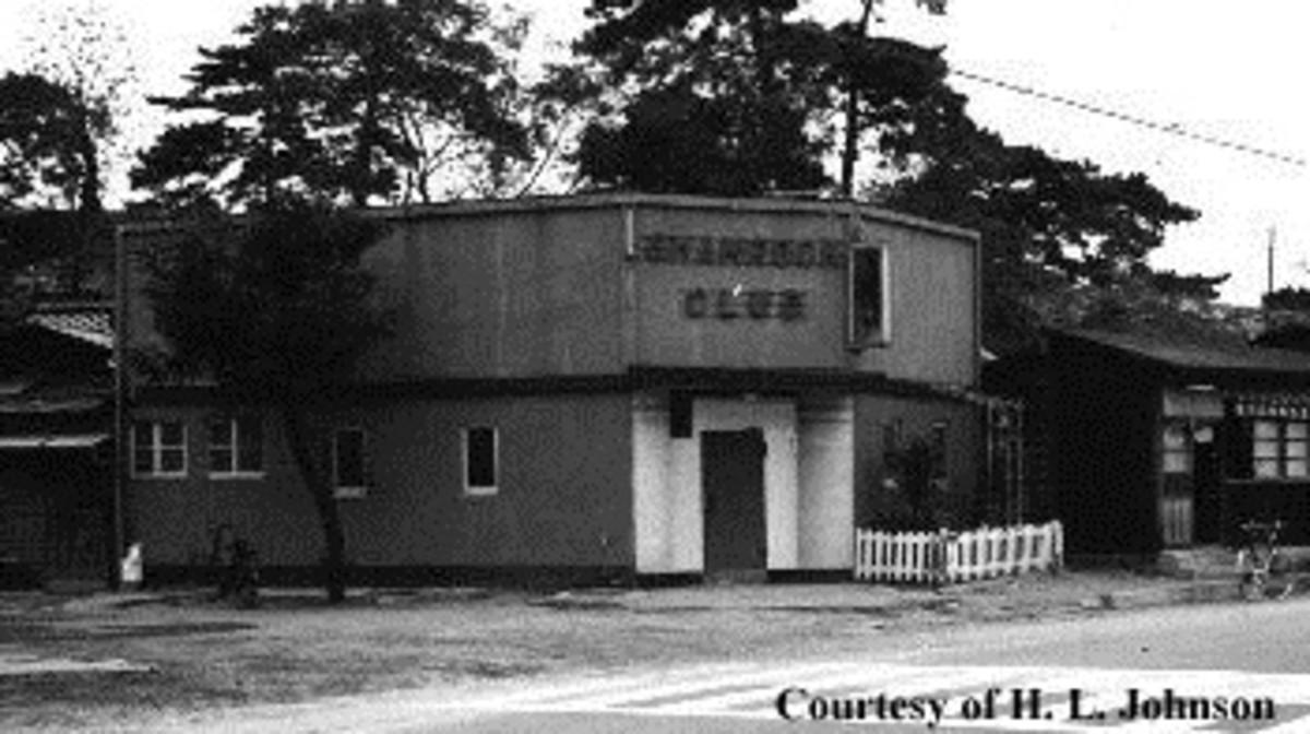 The Shamrock Club in Saitozaki, Japan