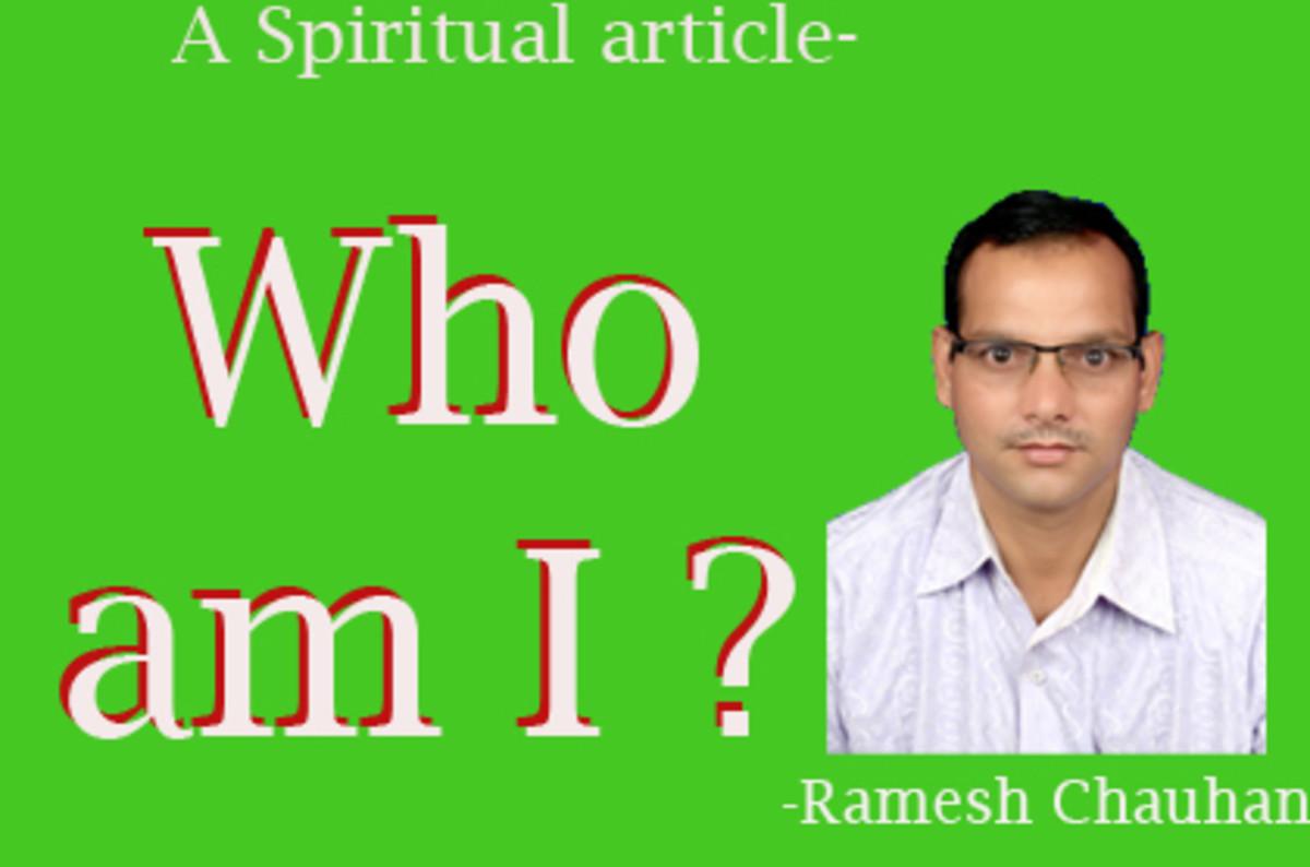 Spiritual Importance of 'I'