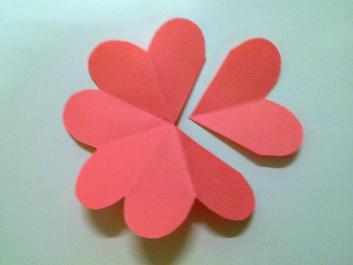 Cut off 2 petals