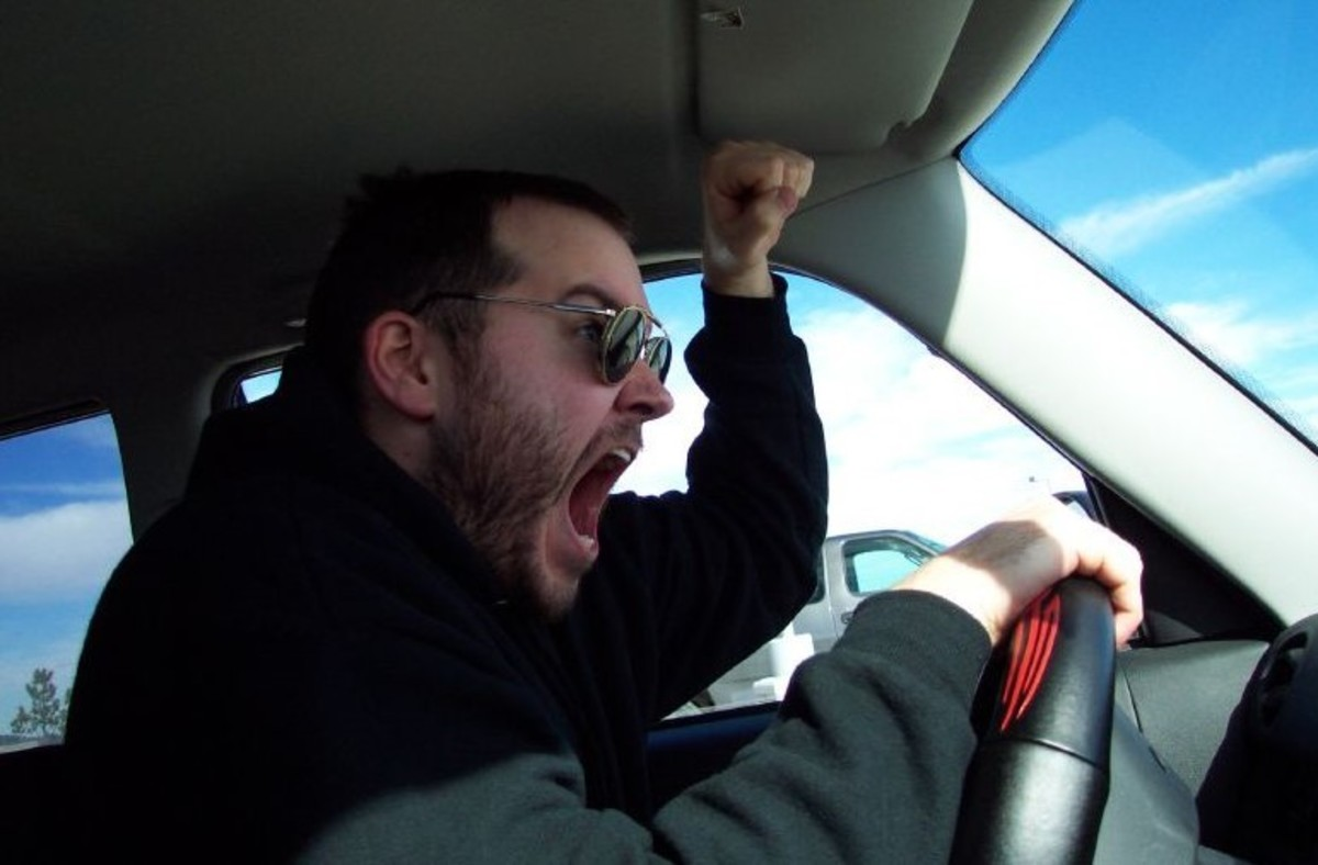 Local Motorists Aggressive when driving cause Road Rage