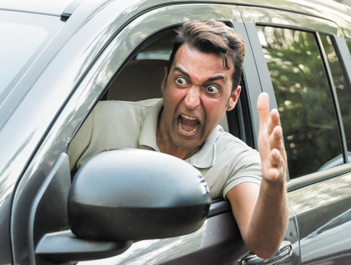 Motorists aggressive to others cause Road Rage