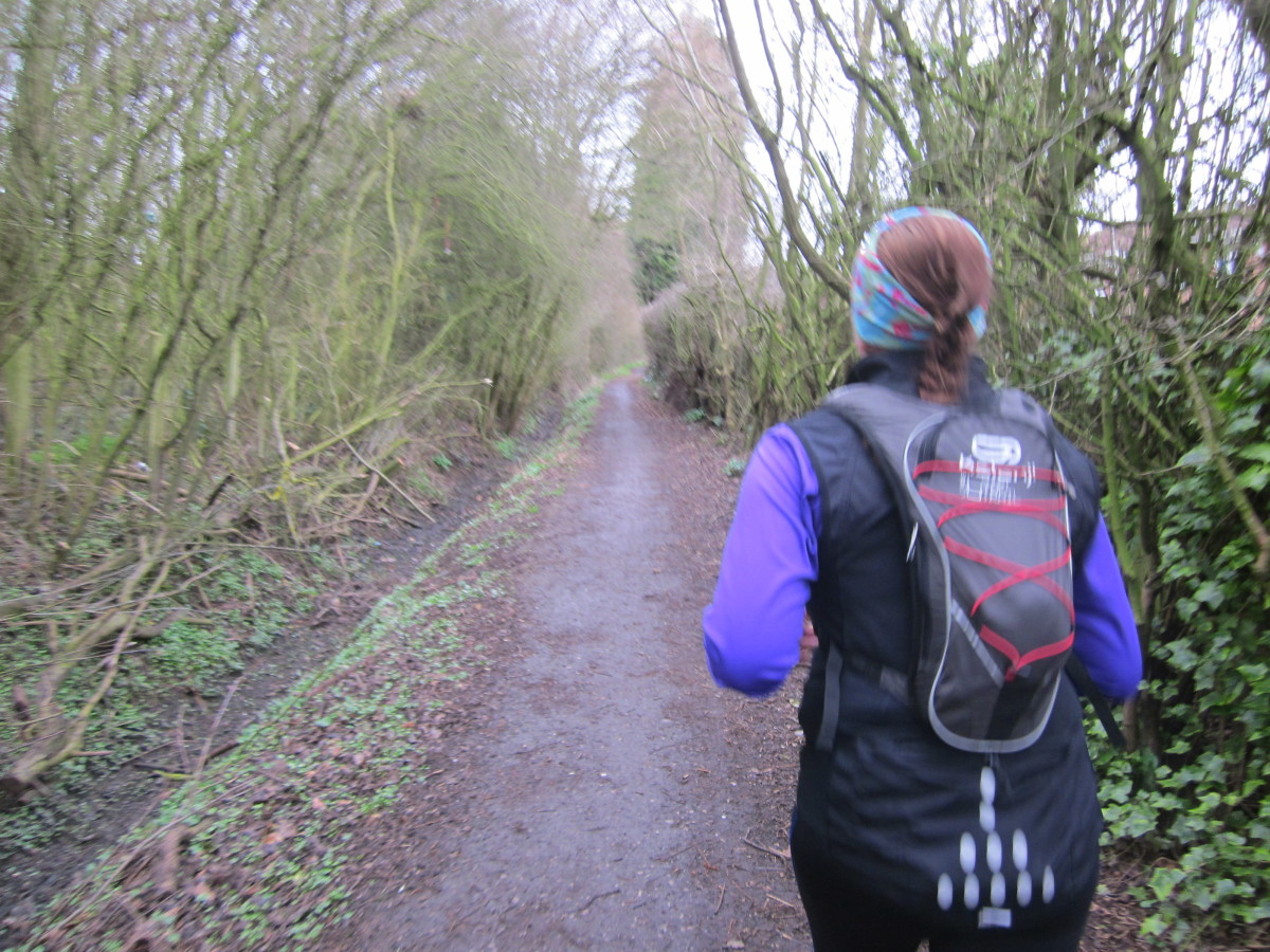 Hydration packs are great for long events like Tough Mudder