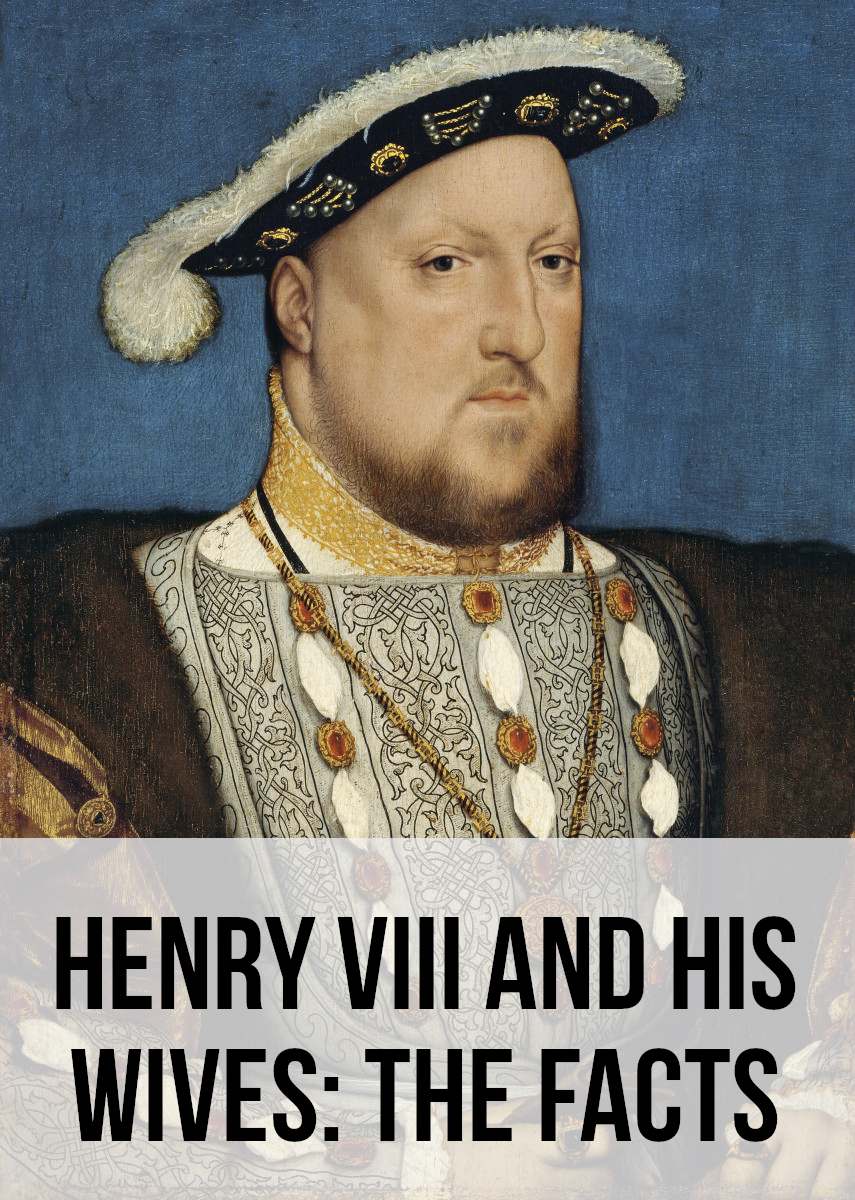 Portrait of Henry VIII from around 1537. For my facts about Henry and his wives, please read on...