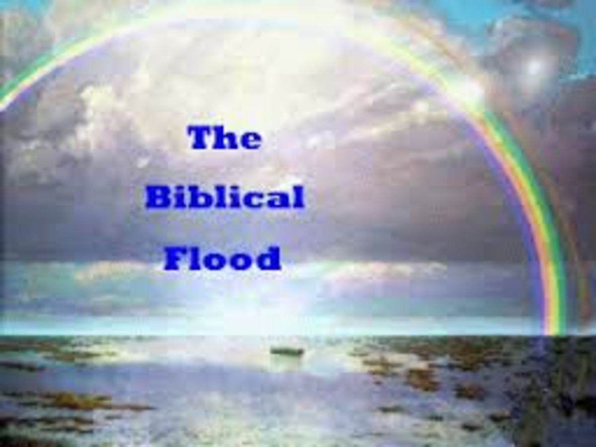 The question today is, Did the biblical flood really happen, or was it a really huge flood, but a lot smaller that the way it is written in the Bible.
