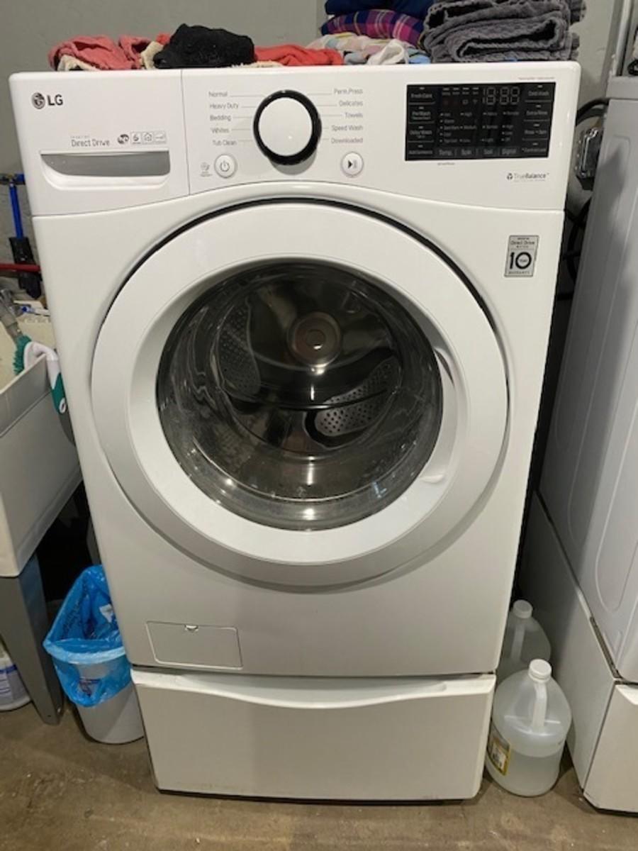Behold, the marvelous LG washing machine