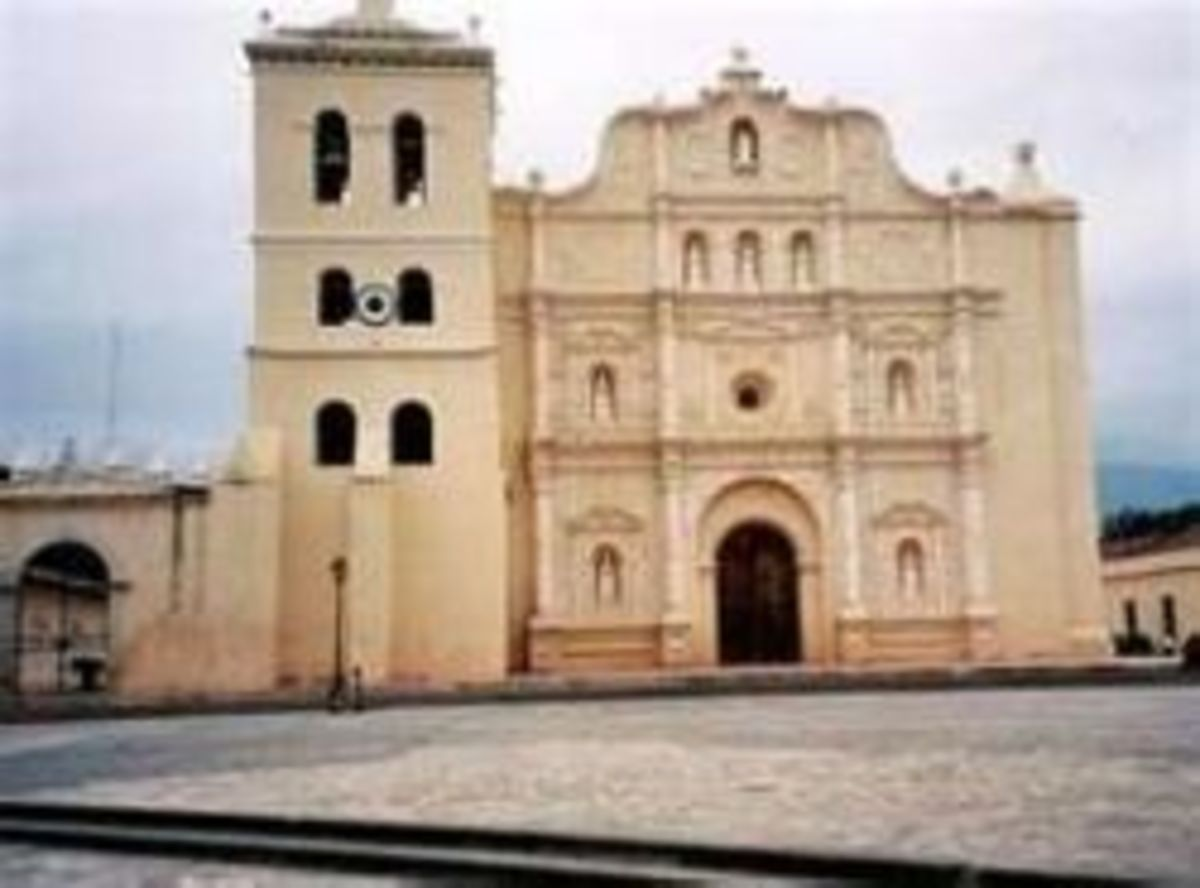 The Cathedral of Comayagua
