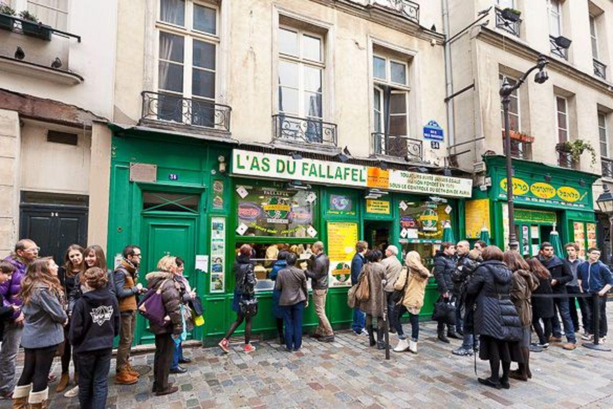 Falafel Shop in the Marais