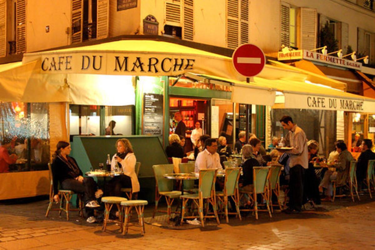 Café du Marche  on Rue Cler