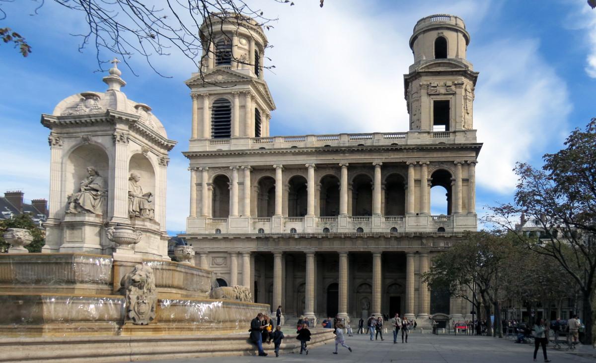 Saint Sulpice in the Latin Quarter