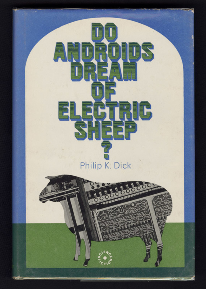 This was the first British edition to the Classic Do Androids Dream of Electric Sheep.
