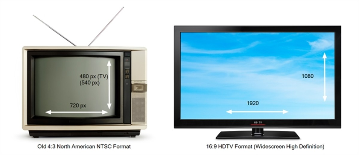 """It was around this time TVs adopted the """"I'm a dinner table"""" look with the advent of widescreens"""
