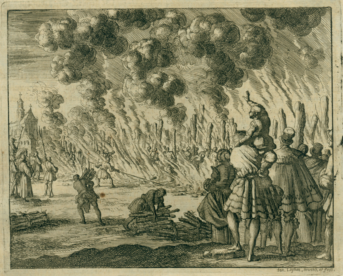 WALDENSES BURNED AT THE STAKE EN MASSE