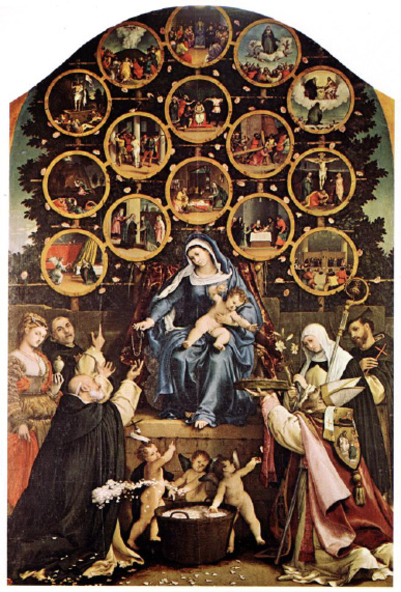 VENERATION OF MARY IN THE 14TH CENTURY