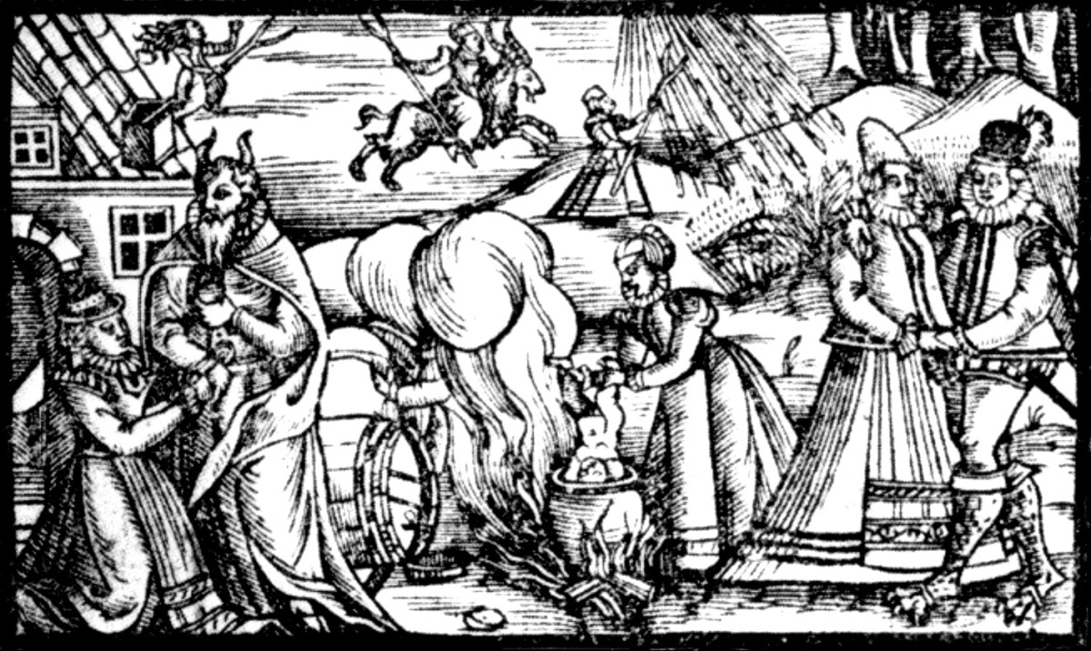 WITCHES IN 14TH CENTURY EUROPE