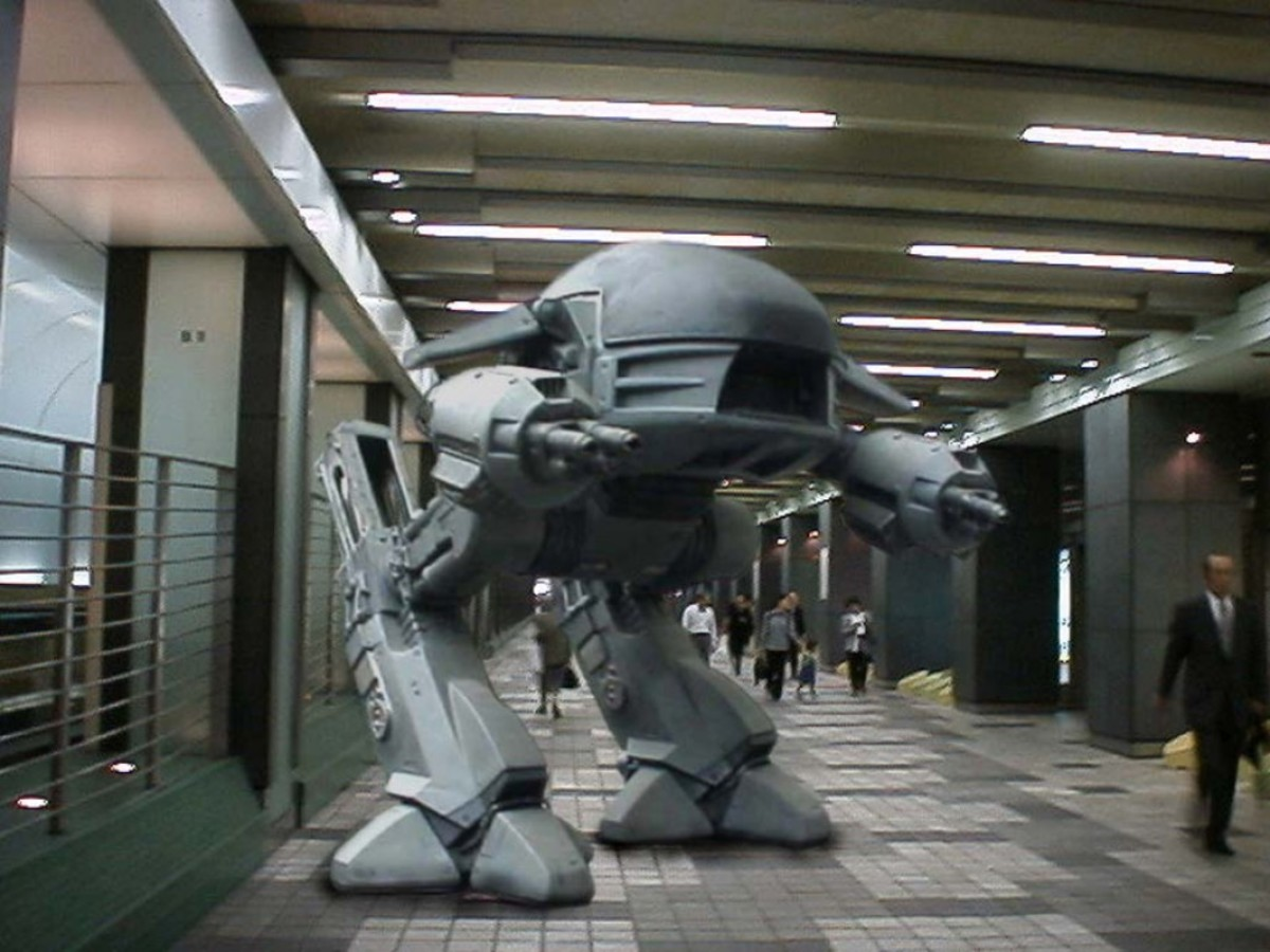 ED-209 from Robocop