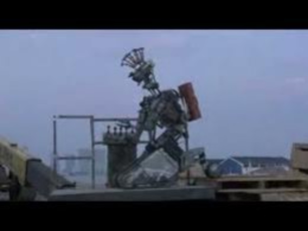"Punk Rocker Johnny ""Number"" 5 from Short Circuit 2"