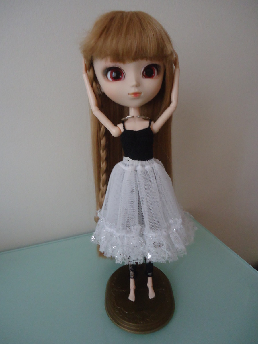 Pullip Basic Leotard with some stock clothes I had on hand