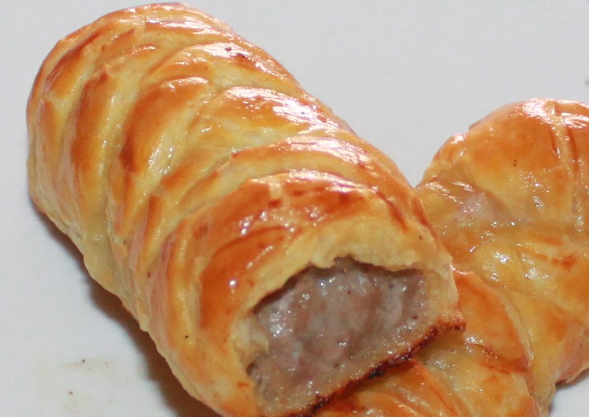 Delicious Sausage Rolls